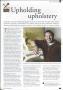 Lee Richard Upholstery - Surrey Life Magazine